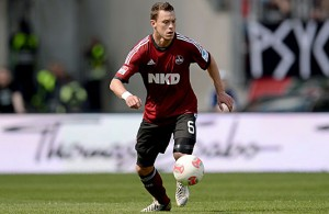 Balitsch en su temporada con el Nürnberg. Foto: spox.com