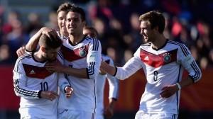 Selección Alemana sub20. Cortesía: www.tacomundial.com