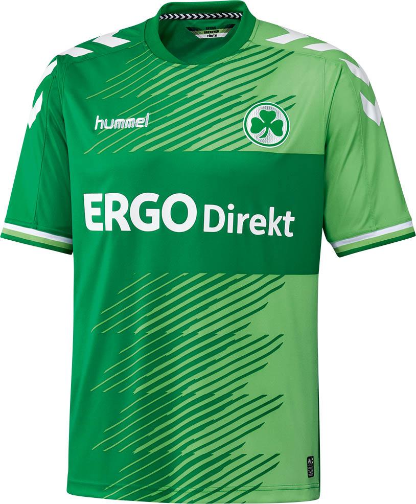 Nuevo uniforme de visitante del Greuther Fürth para 2015/16. Fuente: nurfussball.com