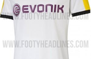 Nuevo tercer uniforme del Borussia Dortmund. Fuente: nurfussball.com