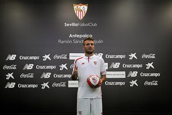 El italiano buscará volver a brillar en Sevilla. Foto:  sevilla.es