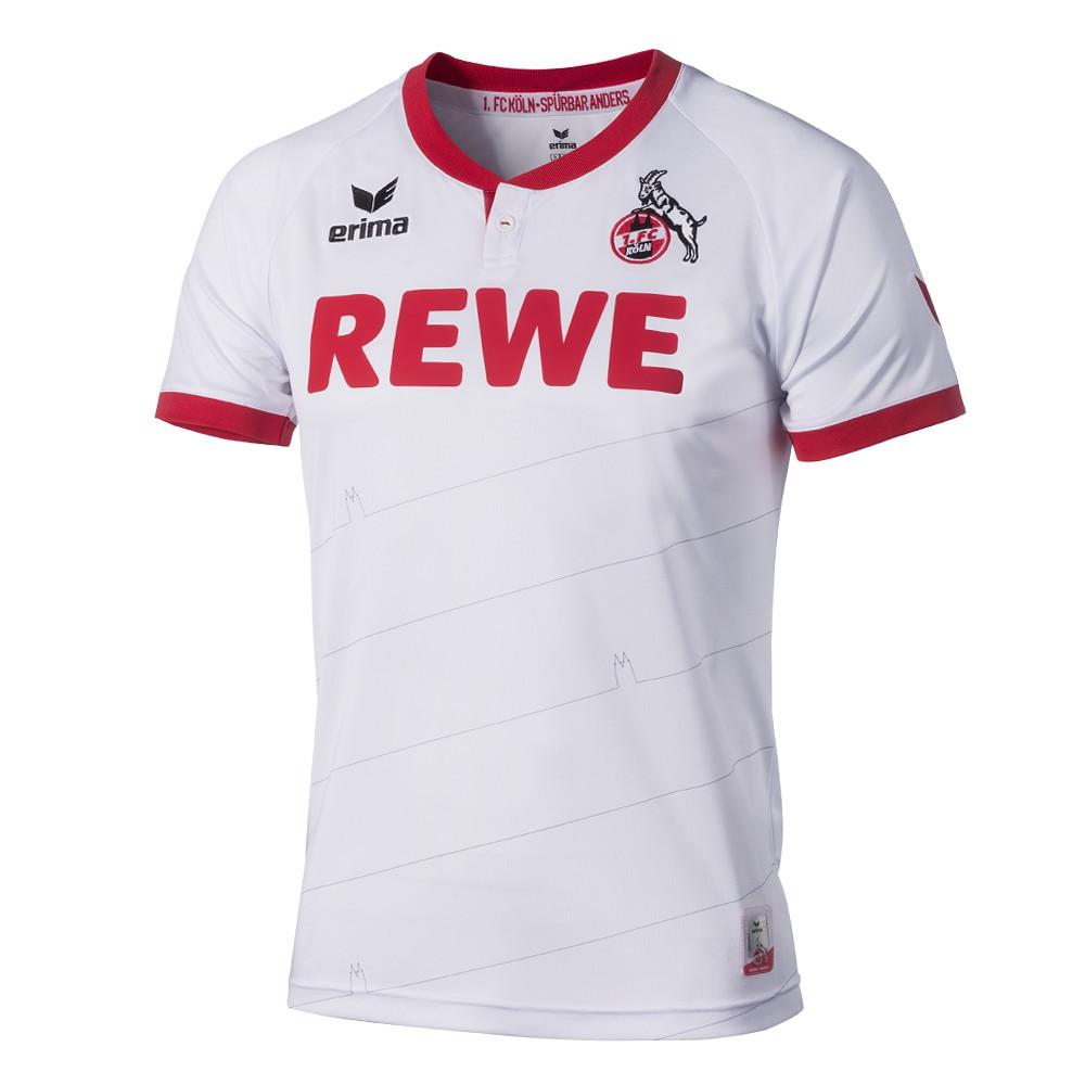 Nuevo uniforme local del Köln para 2015/16. Fuente: nurfussball.com