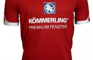 Nueva camiseta local del Mainz para 2015/16. Fuente: Tienda oficial del club