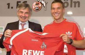 Podolski retornaba a su casa, el 1.FC Köln.