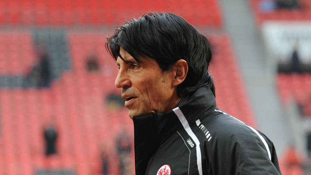 Bruno Hübner, director deportivo del Frankfurt. Imagen: www.op-online.de