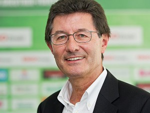 Helmut Hack, presidente del SpVgg Greuther Fürth. Imagen procedente de: mediadb.kicker.de
