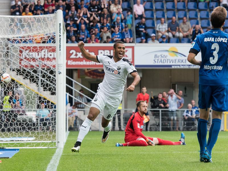 El SV Sandhausen ha hecho una meritoria campaña en la segunda mitad de 2015, y podrá lograr dar el golpe en la lucha por el ascenso en 2016. Foto: kicker.de