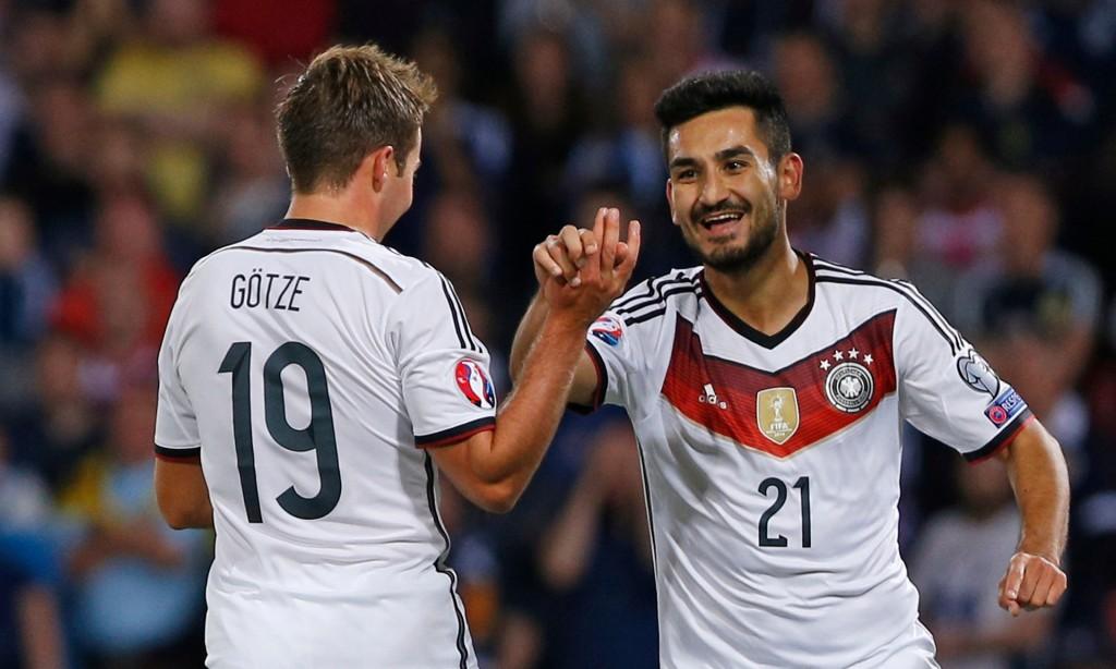 Ilkay Gündogan selló una apretada y dramática victoria para Alemania en Escocia, que deja a 'Die Mannschaft' más cerca de la Euro 2016. Fuente Imagen: theguardian.com