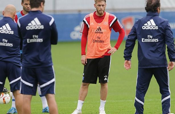 Hunt firmó por tres temporadas con el HSV. Fuente: kicker.de// Foto: Picture alliance// Axel Heimken