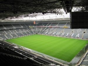 Borussia-Park. Lugar de la disputa. Imagen procedente de: torfabrik.de