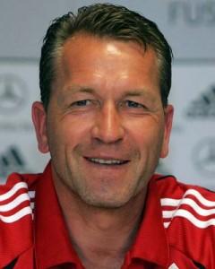 Andreas Köpke, actual entrenador de porteros de la selección nacional. Imagen procedente de: spox.com