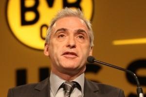 Reinhold Lunow, tesorero del Borussia Dortmund. Imagen procedente de: schwatzgelb.de