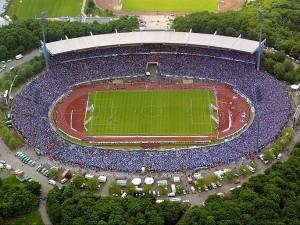 Parkstadion. Sede de los de Gelsenkirchen desde el año 1973 hasta el 2001. Imagen procedente de: fmsuomi.com