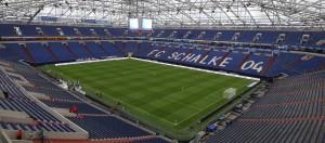 Veltins-Arena (anteriormente llamado Arena AufSchalke). Campo donde actualmente disputa sus partidos el Schalke desde el año 2001. Imagen procedente de: img2.wikia.nocookie.net