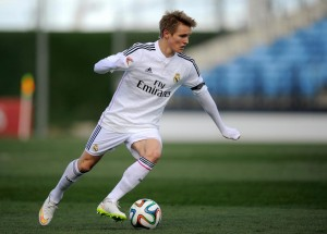 Martin Odegaard, joven futbolista del Real Madrid. Imagen procedente de: talksport.com