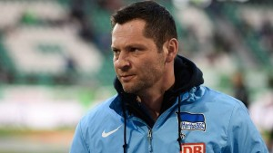 Pál Dárdai. Entrenador del Hertha BSC. Imagen procedente de: static.bz-berlin.de