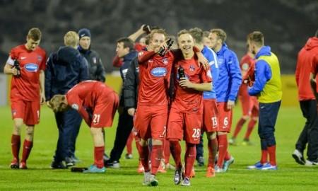 El FC Heidenheim ha llegado a los cuartos de final por primera vez en su corta historia en la Copa. En su camino está el Hertha Berlin, pero se vale soñar. Foto de abendzeitung-muenchen.de