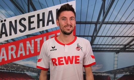 Presentación de Mladenovic para la web oficial del FC Köln. Foto: www.fc-koeln.de
