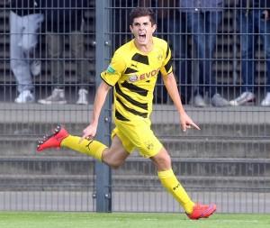Christian Pulisic, futbolista juvenil del Borussia Dortmund. Imagen procedente de: cdn.playbuzz.com
