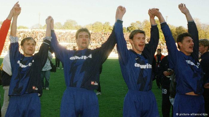 Eintracht Trier fue el 'matagigantes' en la Pokal de 1997-98. Foto de dw.de