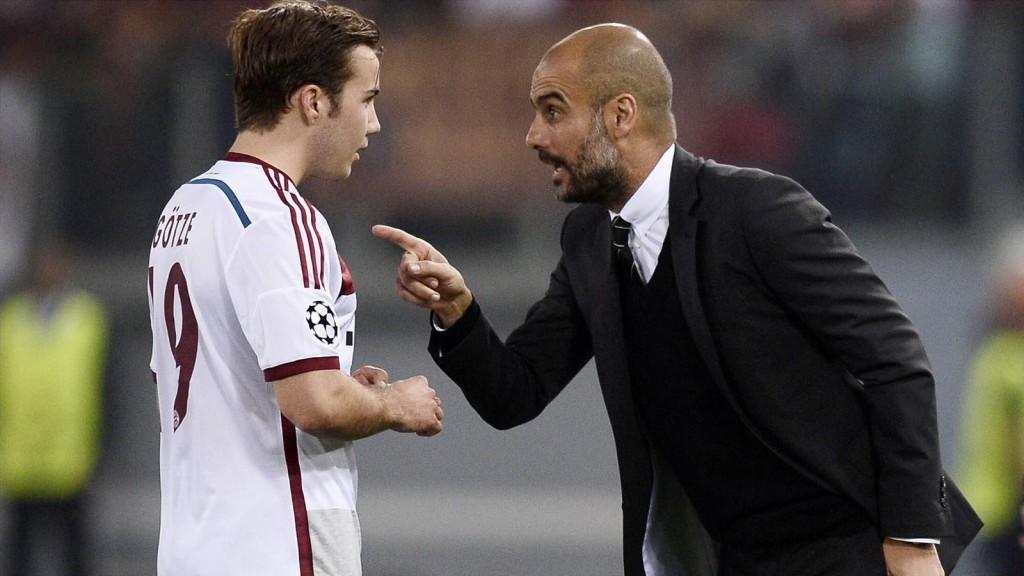 Guardiola no le pudo encontrar la vuelta a la función de Götze en el equipo. Foto: eurosport.es