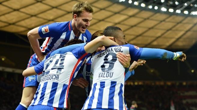 Hertha Berlin, la gran revelación de ésta temporada, viene en genial forma y es candidatazo a un cupo directo a Champions.