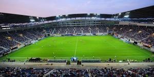 Ghelamco Arena, lugar donde se disputará el encuentro. Imagen procedente de: kaagent.be