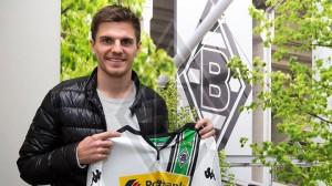 Jonas Hofmann el día de su presentación con el Borussia Mönchengladbach. Imagen procedente de: images.sport1.de
