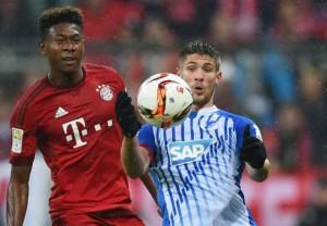 Andrej Kramaric (derecha) fue el dolor de cabeza de los defensas del Bayern. Imagen procedente de: images.performgroup.com
