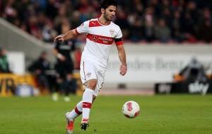 Serdar Tasci en su época como futbolista del VfB Stuttgart. Imagen procedente de: sportal.de