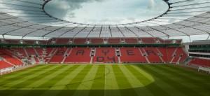 BayArena, estadio donde los locales trataran de remontar la eliminatoria. Imagen procedente de: archello.com