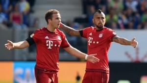 Se plantean posibles las salidas de Götze y Vidal. Imagen: es.uefa.com