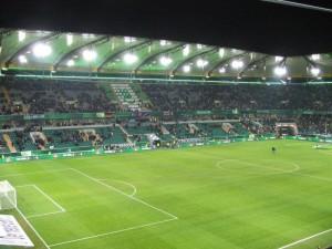 Volkswagen Arena, sede del partido de mañana. Imagen procedente de: stadiumguide.com
