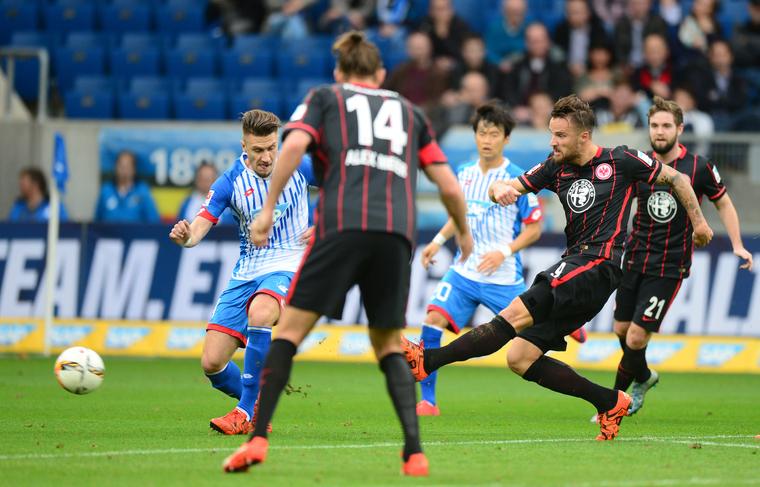 Imagen del partido de Rückrunde que terminó en empate 0-0. Foto: eintracht.de