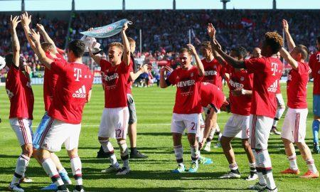 Bayern Munich se corona campeón de visita al derrotar a Ingolstadt 2-1. Foto: Alex Grimm/Bongarts/Getty Images