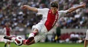 Huntelaar en su paso en el Ajax.