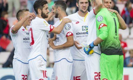 SpVgg Unterhaching v 1. FSV Mainz 05 - DFB Cup