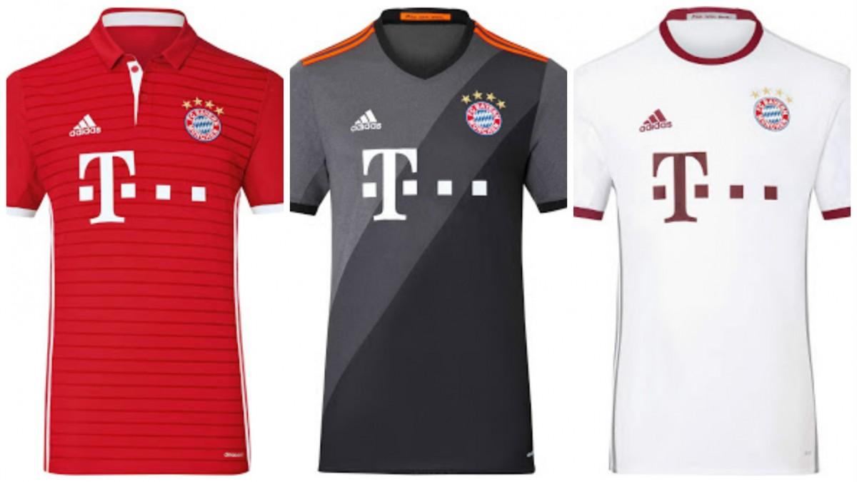 c732f27ee3d1c FOTOGALERÍA  Todos los uniformes de la Bundesliga 2016 2017 - Mi ...