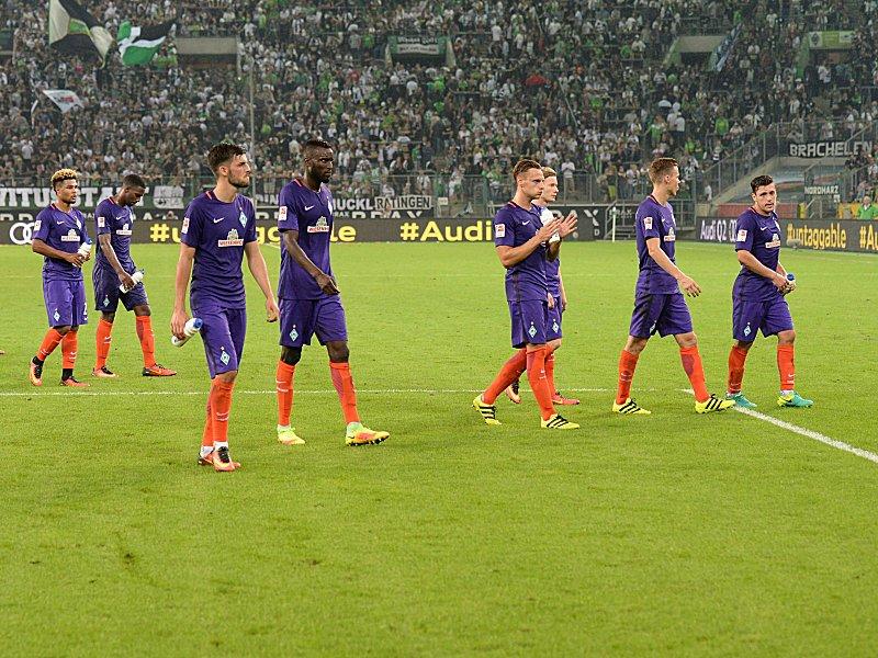 Werder Bremen sufrió un varapalo a manos del Gladbach, lo cual lo deja en una crítica situación en la liga. Foto © nordphoto / Ewert nordphotox/xEwert