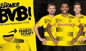 camiseta Borussia Dortmund 2017/18