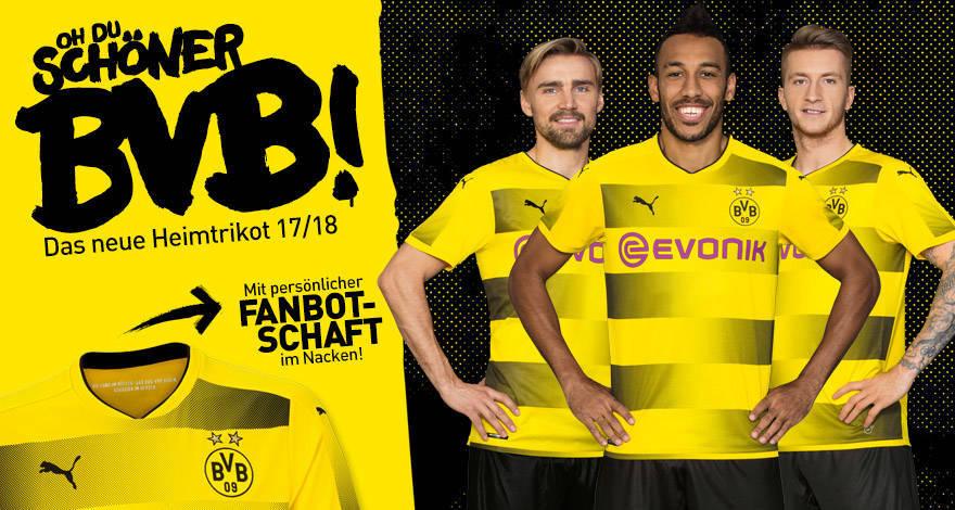 Nueva camiseta Borussia Dortmund 2017 18 - Mi Bundesliga 0f8b0312ef0ce