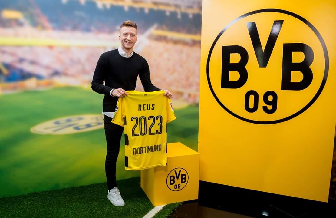 Marco Reus renueva su compromiso con Borussia Dortmund - Mi Bundesliga