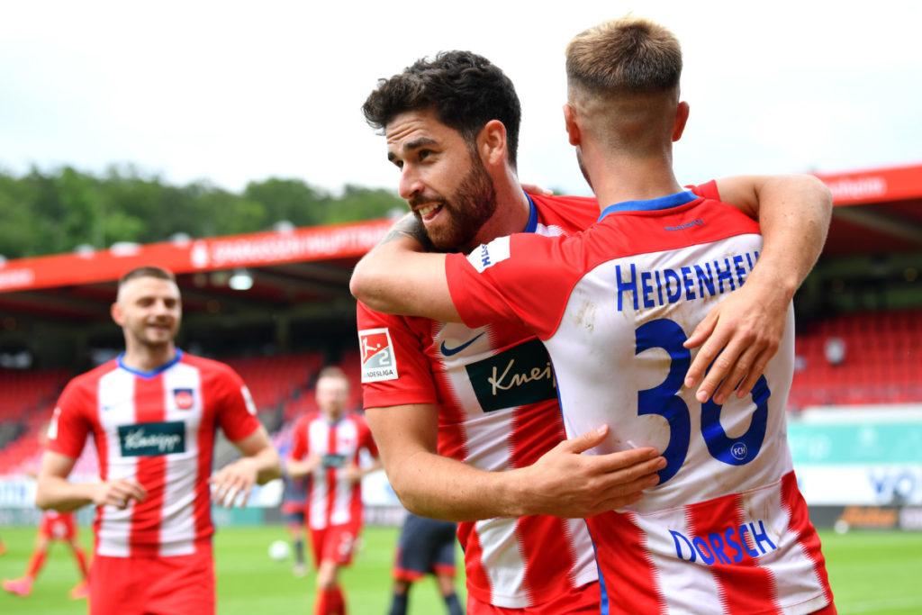 Al FC Heidenheim, dos victorias le bastarán para tener opciones de lograr el ascenso a la Bundesliga.