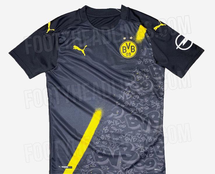 Nueva camiseta visitante Borussia Dortmund