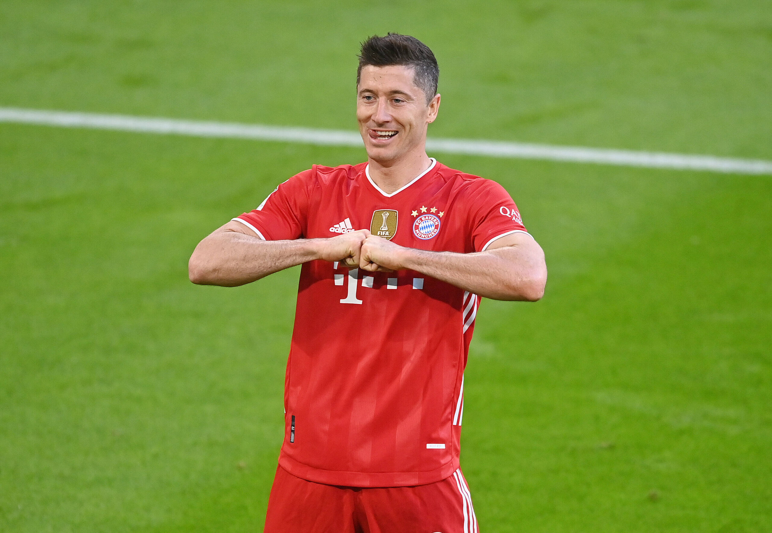 Lewandowski, historia viva de la Bundesliga. Foto: Imago