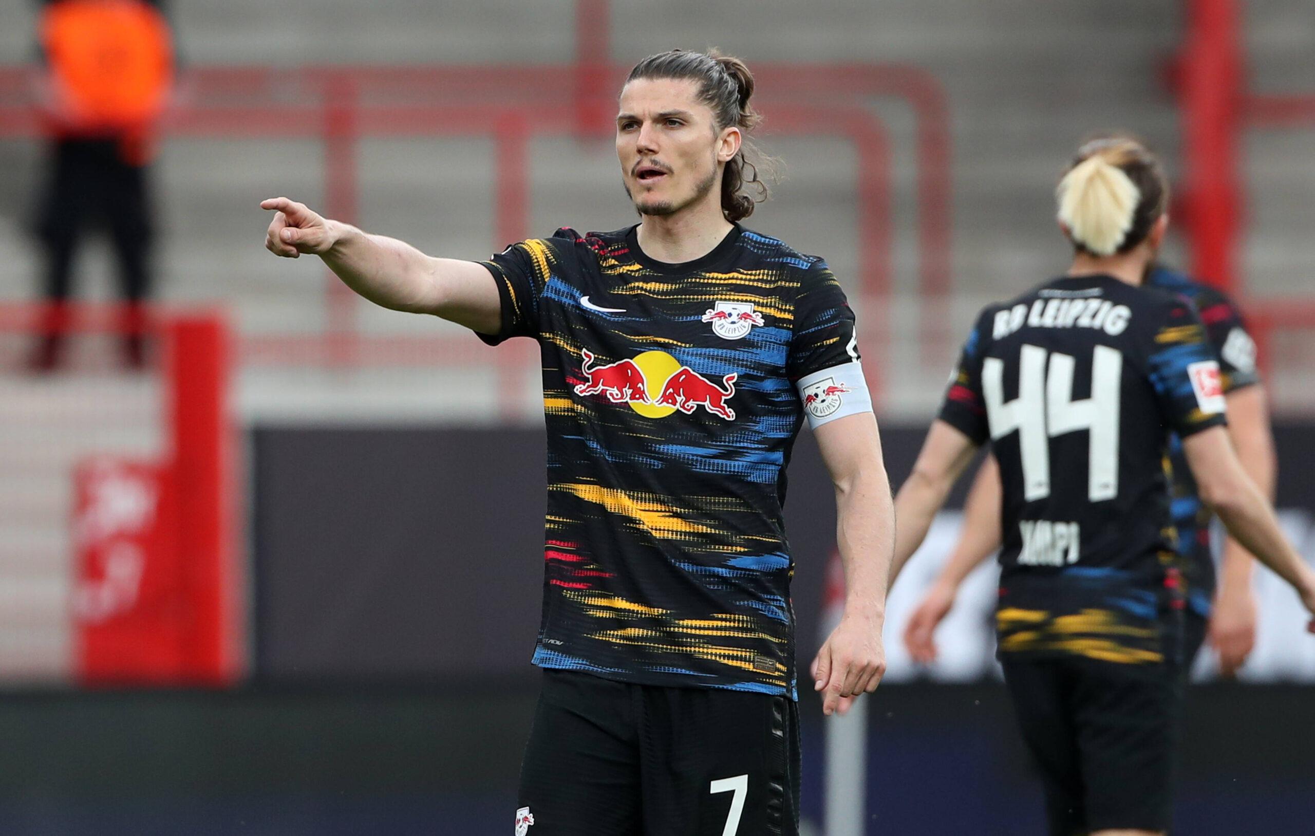 Sabitzer, la estrella de RB Leipzig y Austria pretendida por Borussia Dortmund. Foto: Imago
