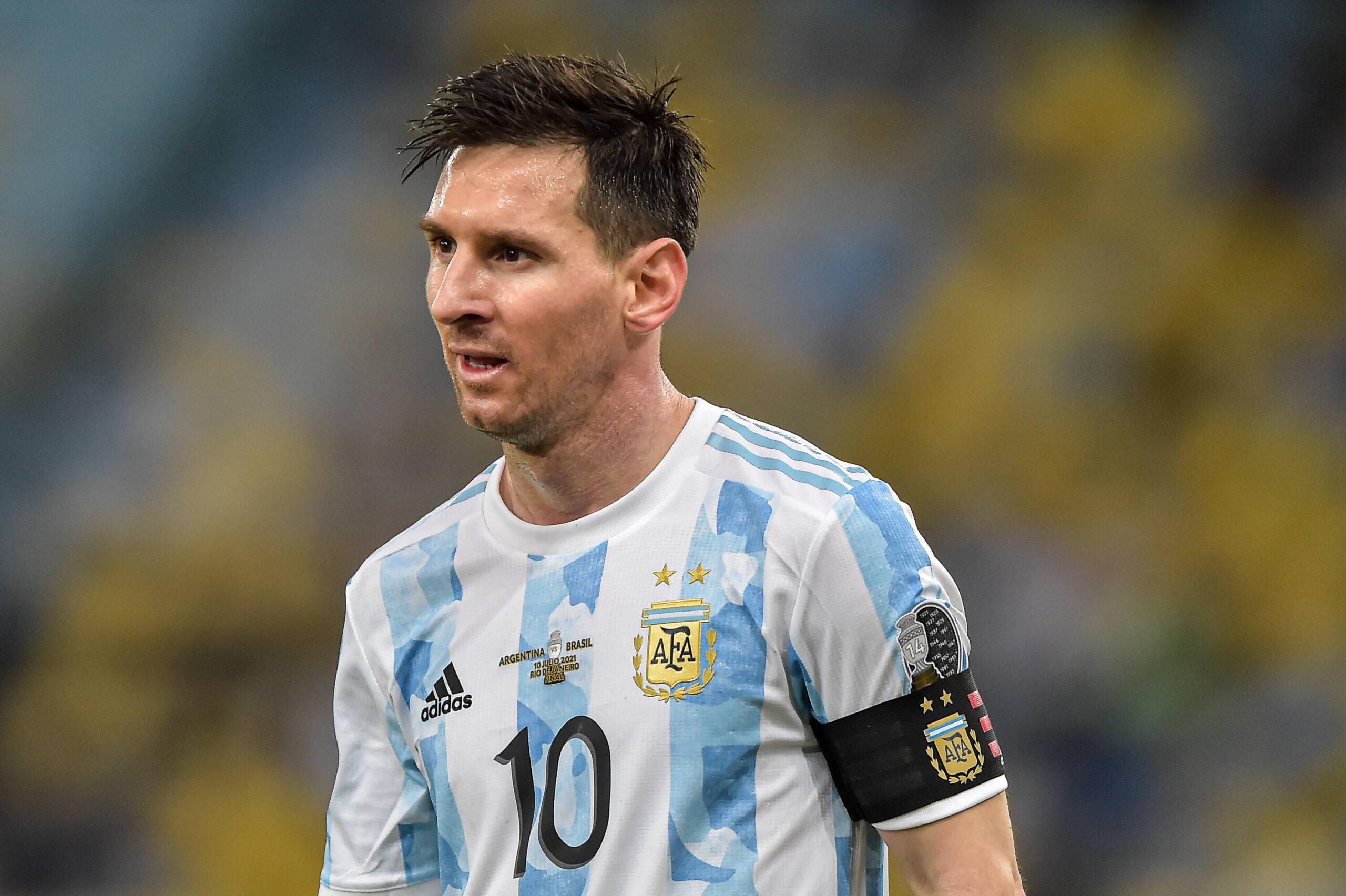 Lionel Messi, el capitán de Argentina. Foto: Imago