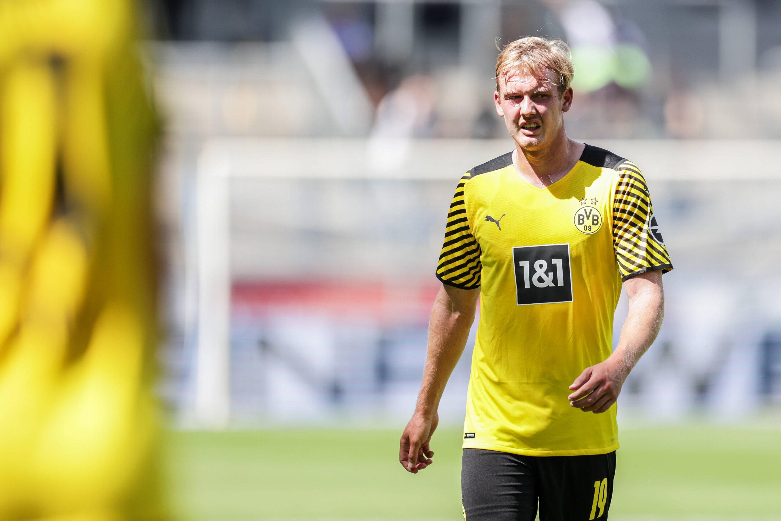 Julian Brandt de Dortmund a ¿Lazio? Foto: Imago.