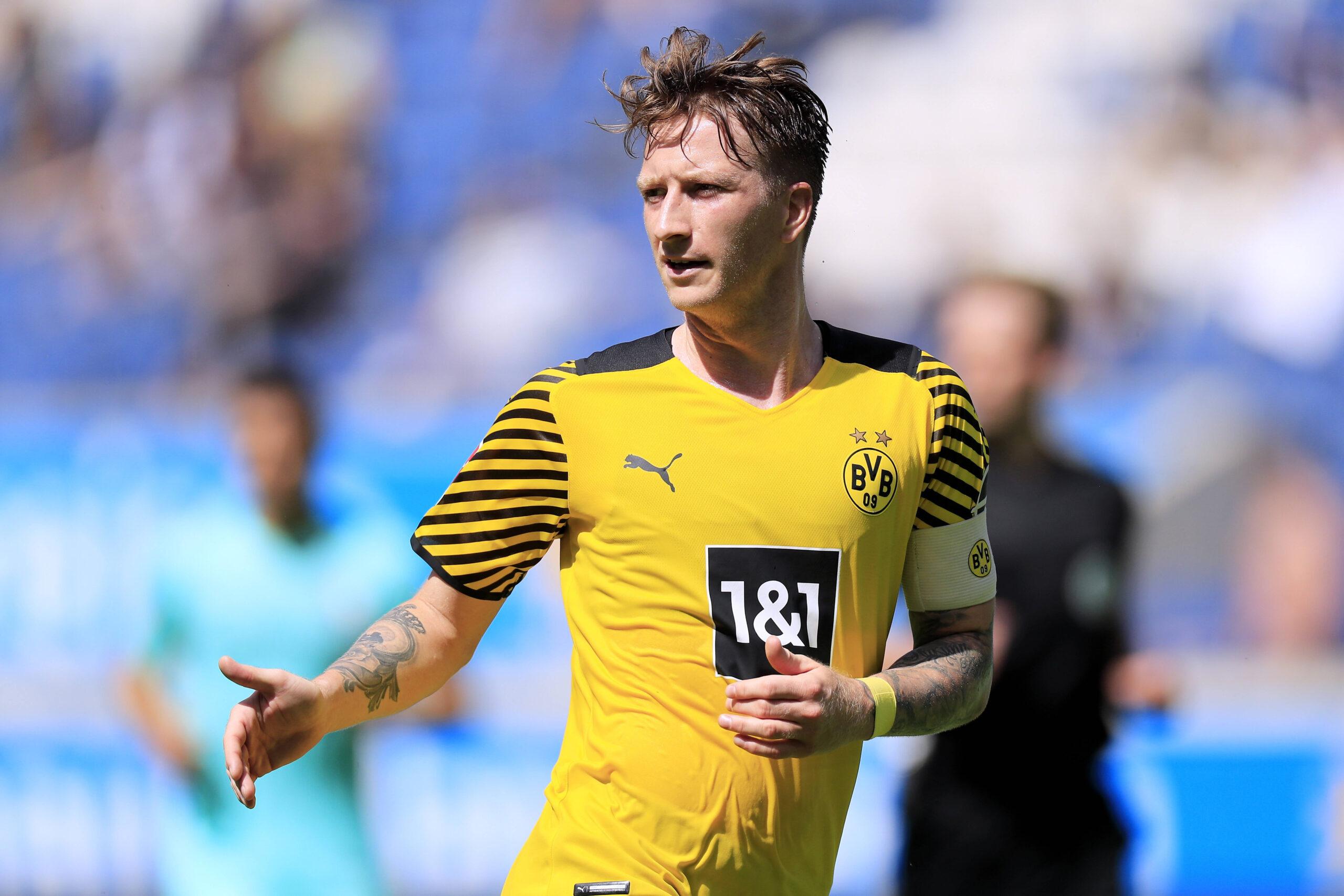 Marco Reus en la pretemporada de Borussia Dortmund. Foto: Imago