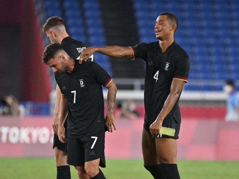 Alemania no brilló, pero se salvó de la eliminación en el segundo partido. Foto: Imago